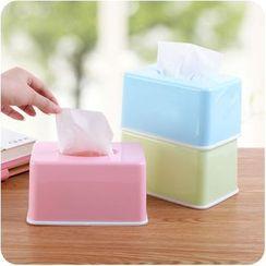 VANDO - 家用簡約塑膠紙巾盒