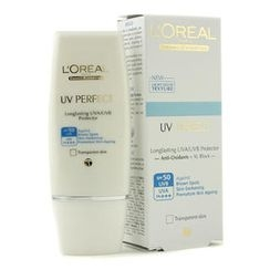 L'Oreal - Dermo-Expertise UV Perfect Long Lasting UVA/UVB Protector SPF50 PA+++ - #Transparent Skin