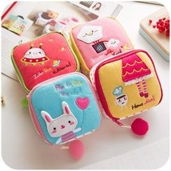 School Time - Cartoon Sanitary Pouch