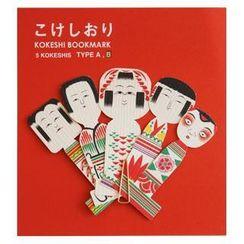 cochae - cochae : Kokeshi Bookmark B