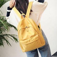 Risage - Plain Laptop Backpack