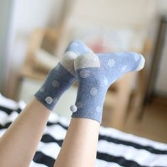 Socka - 翻遍球球中筒襪