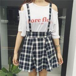 Eva Fashion - 裙子连可拆吊带