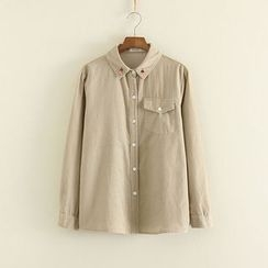 Mushi - Embroidered Shirt