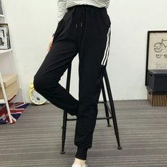 Cloud Nine - Stripe Jogger Pants
