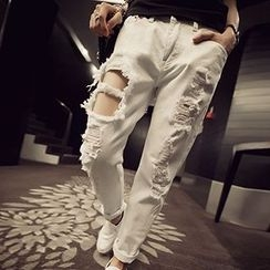 Frontline - Distressed Harem Pants