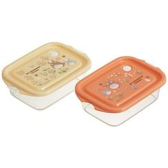 Skater - My Neighbor Totoro Seal Box (2 Pieces Set) (Orange)