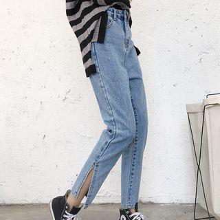 OCTALE - Slit Skinny Jeans