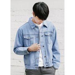 JOGUNSHOP - Buttoned Denim Jacket