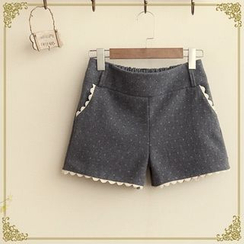 Fairyland - Rickrack Trim Shorts