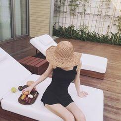 YUKISHU - Plain Swimdress