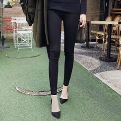 Seoul Fashion - Plain Skinny Pants
