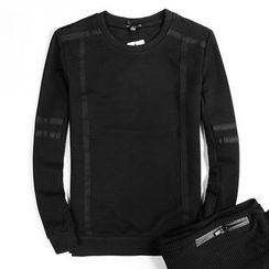 EDAO - Set: Long-Sleeve Sport T-Shirt + Sweatpants