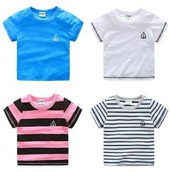 WellKids - Kids Short-Sleeve Embroidered T-Shirt