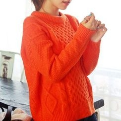 Ashlee - Cable Knit Sweater