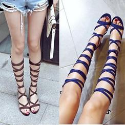 Pangmama - Gladiator Heel Sandals