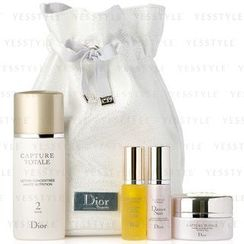 Christian Dior - Capture Totale Gift Set: Lotion 50ml + Serum 7ml + Cream 15ml + Skin Creator 7ml + Bag
