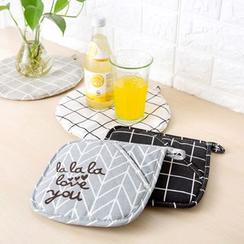 Home Simply - Patterned Heat Resistant Pad