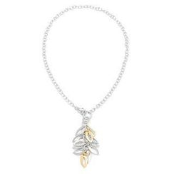 Bellini - Gold and silver leaf Necklace