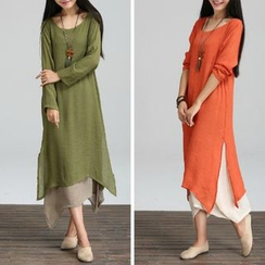 Diosa - Long-Sleeve Maxi Dress