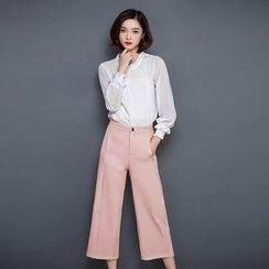 Her Story - Set: Blouse + Cropped Pants