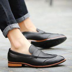 BINSHOU - Cutout Loafers
