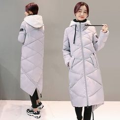Ekim - Hooded Long Padded Coat
