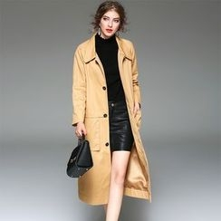 Y:Q - Single Breasted Trench Coat
