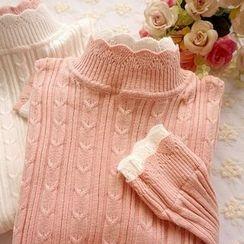 Cobblestone - Cable Sweater