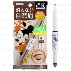 BCL - Browlash Ex W Eyebrow Gel Pencil & Powder Minnie Mouse Edition (Mocha Brown)