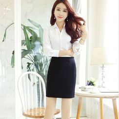 Loverac - Business Wear Hip Skirt