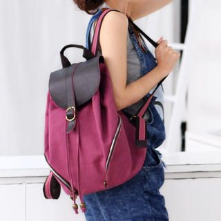 59 Seconds - Canvas Backpack