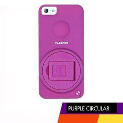 Vlashor - 紫色旋转iPhone5电话手机壳