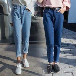 Denimot - 直筒牛仔裤
