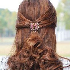 Missy Missy - Rhinestone Butterfly Hair Claw