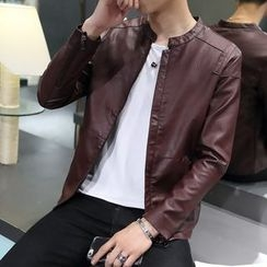 Edway - Faux Leather Jacket