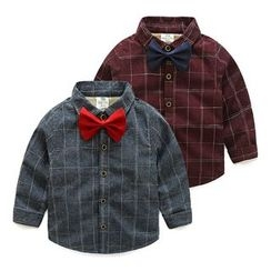 Seashells Kids - Kids Window Pane Shirt