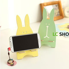 Lazy Corner - Wooden Rabbit Phone Stand
