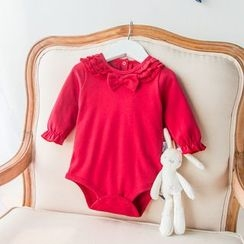 MOM Kiss - Baby Frill Trim Bodysuit