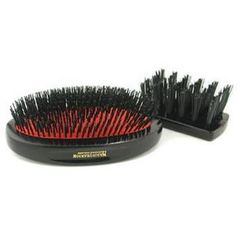 Mason Pearson - Boar Bristle - Sensitive Military Pure Bristle Medium Size Hair Brush (Dark Ruby)