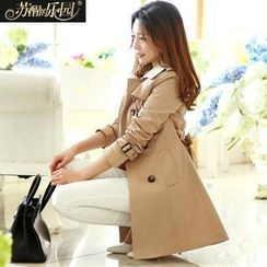 Paradiso - Trench Coat with Belt