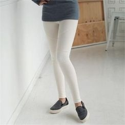 ode' - Brushed-Fleece Leggings