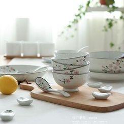 Kawa Simaya - Floral Tableware Set (25 Pack)