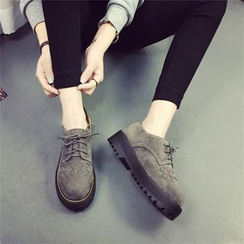 BAYO - Platform Lace-Up Shoes