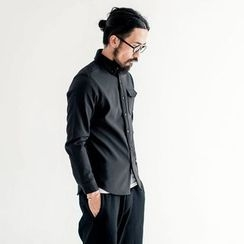 YIDESIMPLE - Long-Sleeved Casual Shirt