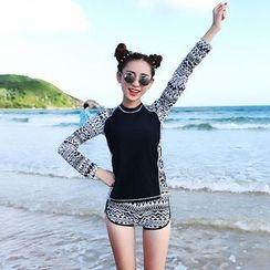 Hokit - 印花分體泳衣