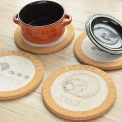 Cutie Bazaar - Round Heat Resistant Mat