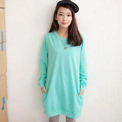 Tokyo Fashion - Side-Pocket Long Pullover