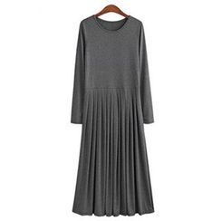 Eloqueen - Pleated Maxi Dress