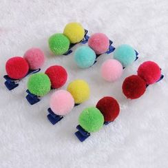 Koibito - 童装毛球发夹
